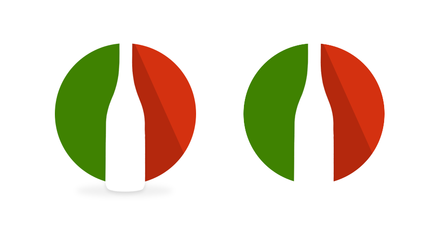 Logotyp Italienskt vinföretag