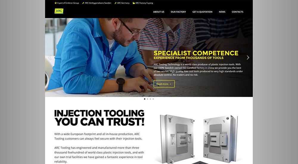 4 webbplatser för ARC lanserade
