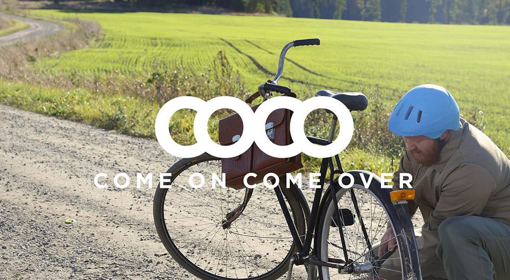Webbplats för reklambyrån Come On Come Over lanserad