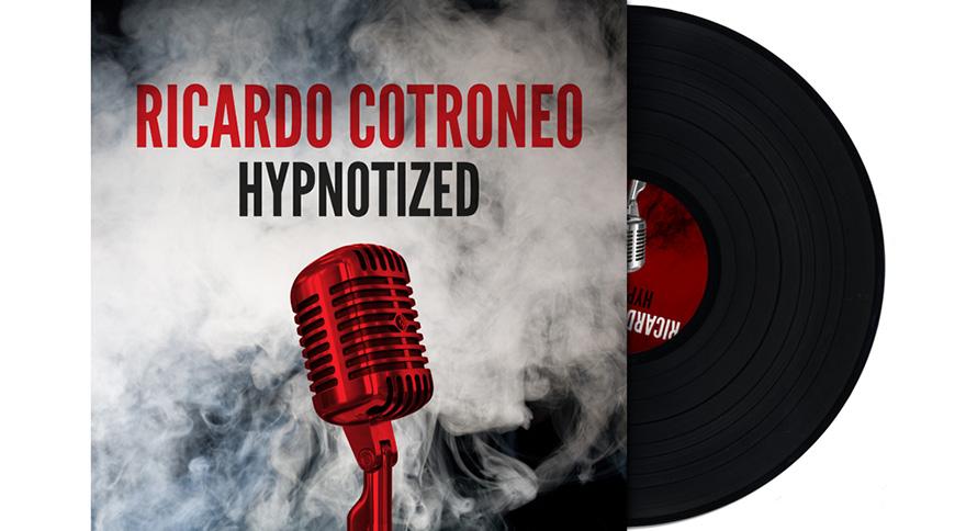 LP-omslag för Ricardo Cotroneo - Hypnotized