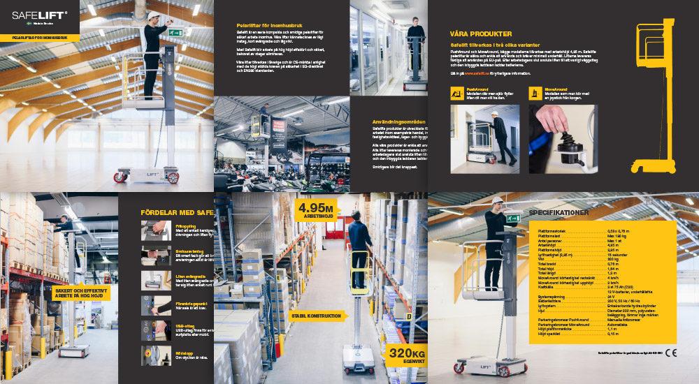 Trycksak: Safelift broschyr