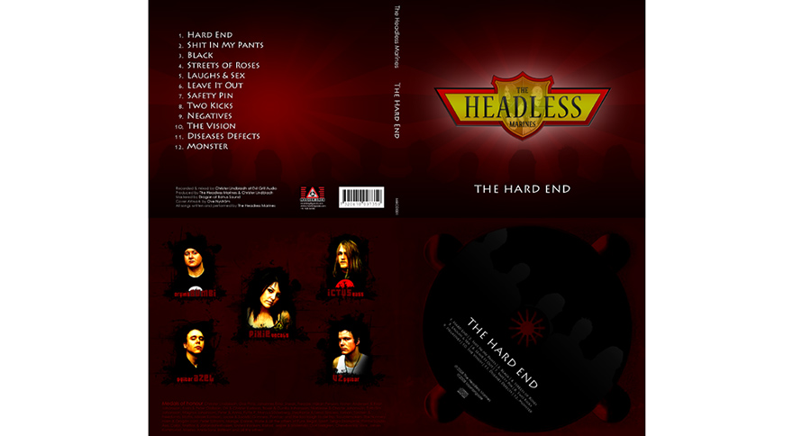 Trycksaker Headless Marines Digipack
