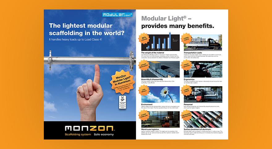 Trycksaker Modular Light