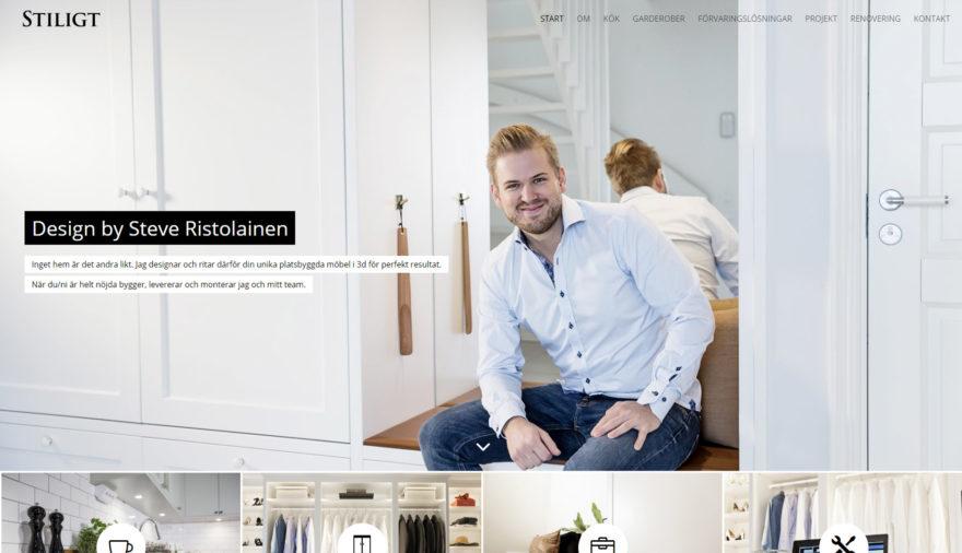 Stiligt, hemsida, webbplats, webbdesign, SEO